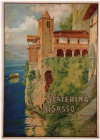Vintage S.Caterina Del Sasso Poster